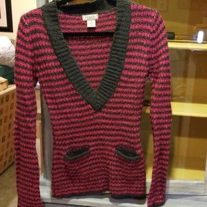 Arizona Co Knit Sweater With front pockets M A73